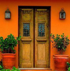 Southwestern Style #doors #southwestern #adobe