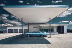 Cars on the Behance Network #fuel #petrol #architecture #usa #car