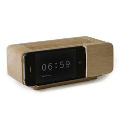 Areaware Alarm Dlock by Jonas Damon #clock #minimalist #design #alarm