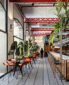 Barcelona Restaurant Features Eclectic Design - InteriorZine #restaurant #decor #interior
