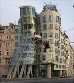 Dancing Building (Prague, Czech Republic) #building #house #interesting