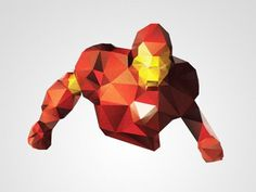 Ironmanee #man #triangulation #iron #triangles