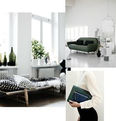 The Design Chaser: Green #interior #design #decor #deco #decoration