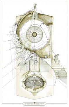 but does it float #staircase #slavinsky #drawings #plans #dan #architecture