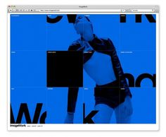 Rune Høgsberg #design #graphic #website #minimal #blue