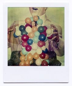 Mathieu Bories Portfolio #photo #polaroid #balloon #vintage #monket