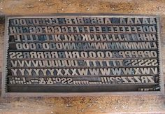 Three Potato Four - Letterpress Wood Type Font Set - Italic No.1 #font #italic #letterpress #set #wood #type #no