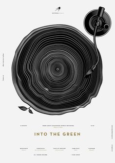 Into The Green on Behance #poster