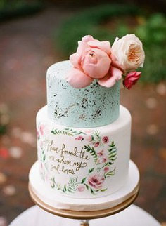 Hand-Painted Cakes You Have To See ,best cake,best cakes,big cakes,cake,cake images,cakes,cakes ideas,designer cake,designer floral cakes,desserts,floral cakes,wedding cakes,yummy cakes