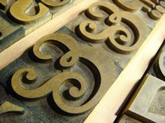 All sizes | The a Mano / Dean wood type collection | Flickr - Photo Sharing! #type #wood #typography