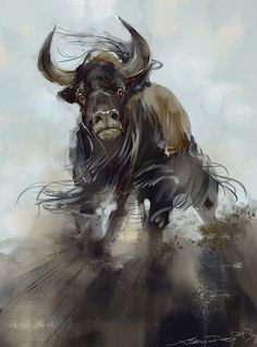 bull - Norman Soo :: The Incredible Photoshop Work of Norman Soo