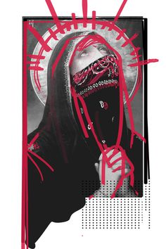 T H I E V E S - Rosco Flevo #flevo #bandana #rosco #religious #church #design #artscumantics #all #illustration #concept #dope #postartfuckery #art #day #relics