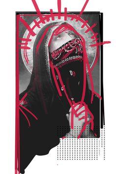 T H I E V E S - Rosco Flevo #flevo #bandana #rosco #religious #church #design #artscumantics #all #illustration #concept #dope #postartfuckery #art #day #relics