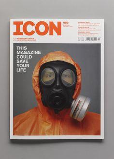 mini mal me:ICONmagazine #print #photography #cover #magazine #orange