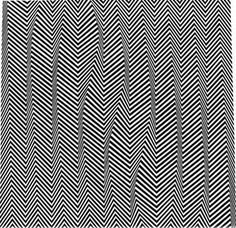 All sizes | bridget_riley_descending_1965_emulsion_on_hardboard_36x36 | Flickr - Photo Sharing! #lines #illusion