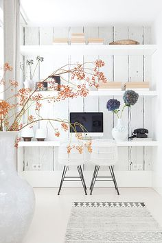 winter white. / sfgirlbybay #interior #design #decor #deco #imac #decoration