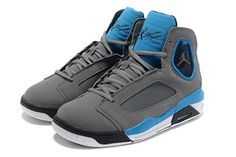 Air Michael Jordan Flight Luminary Mens - Light Graphite - Game Royal - Black #fashion