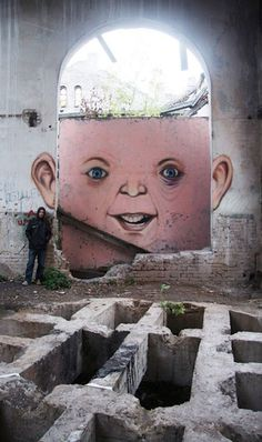 Nikita Nomerzgg 'The Living Wall' #graffiti #nikita #living #nomerzgg #the #wall #art #street