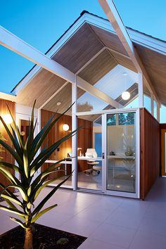 Mountain View Double Gable Eichler Remodel by Klopf Architecture