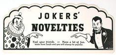 JOKERS' NOVELTIES
