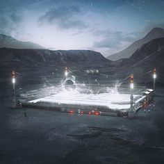 Digital visualizations by Mike Winkelmann