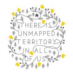 Unmapped - - - - Sarah Abbott - - - #lettering