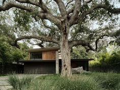 Exterior, House Building Type, Wood Siding Material, and Concrete Siding Material Photo 1 of 10 in The Sanctuary by Feldman Architecture
