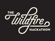 Hackathon Type by Gustav Holtz #type #logo #script