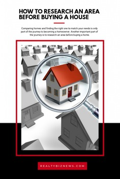 Tips to Research an Area Before Buying a Home