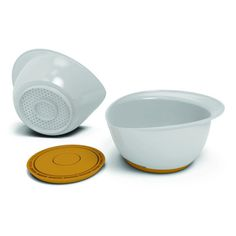 Strain then serve fresh food in this multipurpose bowl. #modern #lifestyle #design #product #industrial