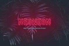 NEONEON – FREE FONT
