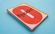 Knockout Type Specimen on Typography Served