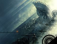 Markandey Oracle by nisachar #temple #fantasy #monument #fi #sci #illustration #oracle