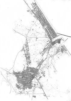 08 : linear city urban analysis : JOHN CAPEN BROUGH #urban