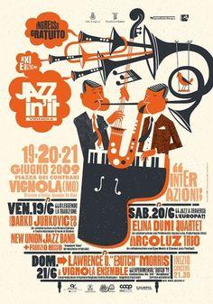 Bomboland #jazz #poster #typography