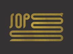SOP Flag #logo #flag #snake