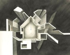 OUTSIDE, july 2013 #architecture #drawing