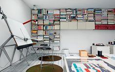 Dieter Rams home studio - photograph Florian Bohm
