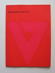 Museumjournaal #1970 #jurriaan schrofer #flickrgraphics #museumjournaal