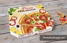 Pizza Box Mockup PSD File | FREE Download for free the pizza box mockup and use it for your graphic design projects.