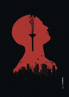 Nightmare #poster #blood #negative space #city #black #war #nightmare #missile #syria