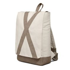 #nordhug - huıd #cream #bag #backpack #knapsack #plain #caftan #simplicity