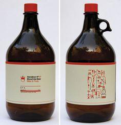 Demijhon Beer #beer #bottle #packaging #icon #label