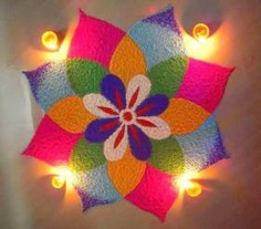 Diya Rangoli Small Rangoli Designs For Diwali