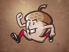 Gonuts #baseball #illustration #vector #nut