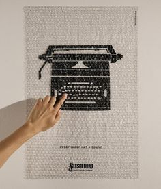 Noisy Interactive Posters by DM9DDB