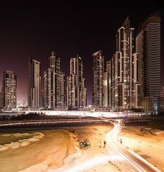 Dubai Cityscapes by Jens Fersterra