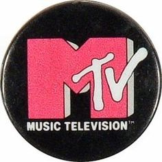 Music Television Vintage Pin 1984 #logo #80s #mtv #pin #1985