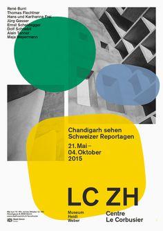 buero146, LC ZH Le Corbusier poster 2015