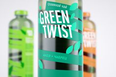 GREEN TWIST Herbal Tea by Tanya Lazareva